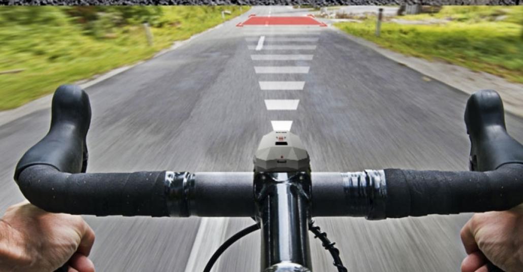 Bisikletlileri Yoldaki Tehlikelere Karşı Uyaran Cihaz