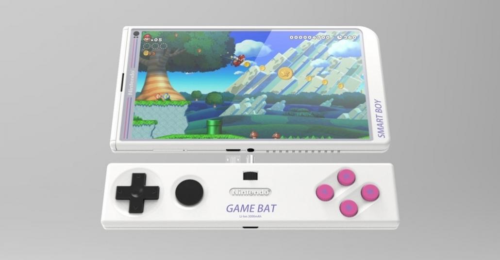 Game Boy'a Dönüşen Akıllı Telefon Tasarımı