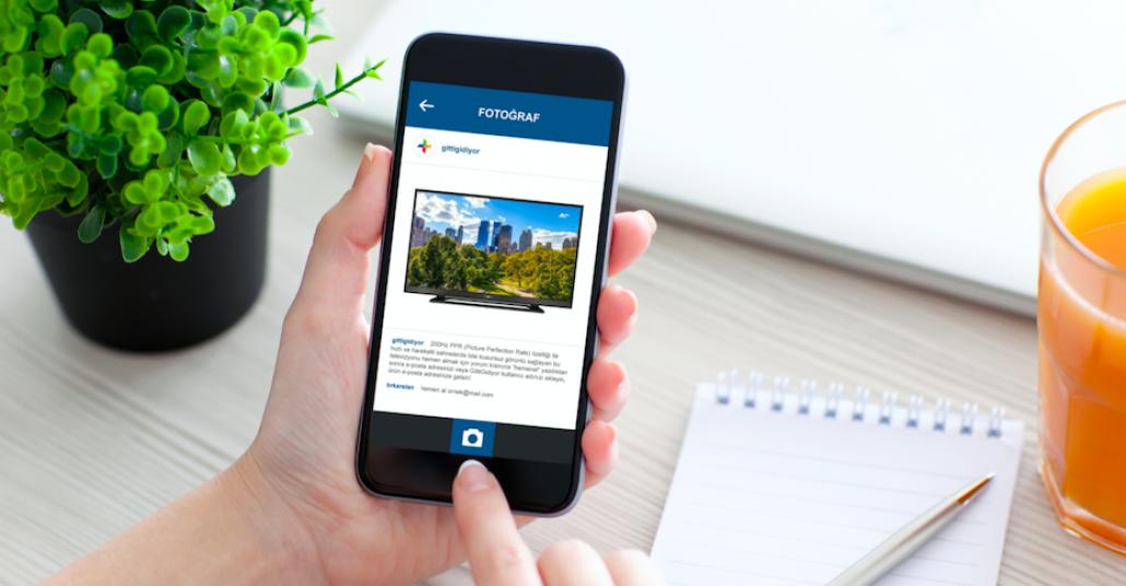 Instagram Yorumuyla GittiGidiyor Ürün Sayfasına Ulaşma