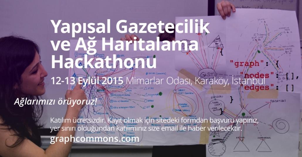 Ağ Haritalama ve Yapısal Gazetecilik Hackathonu