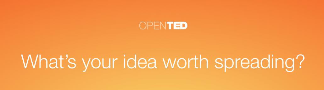TED'in Yeni Ürünü OpenTED'le Herkes TED Konuşması Yapabilecek