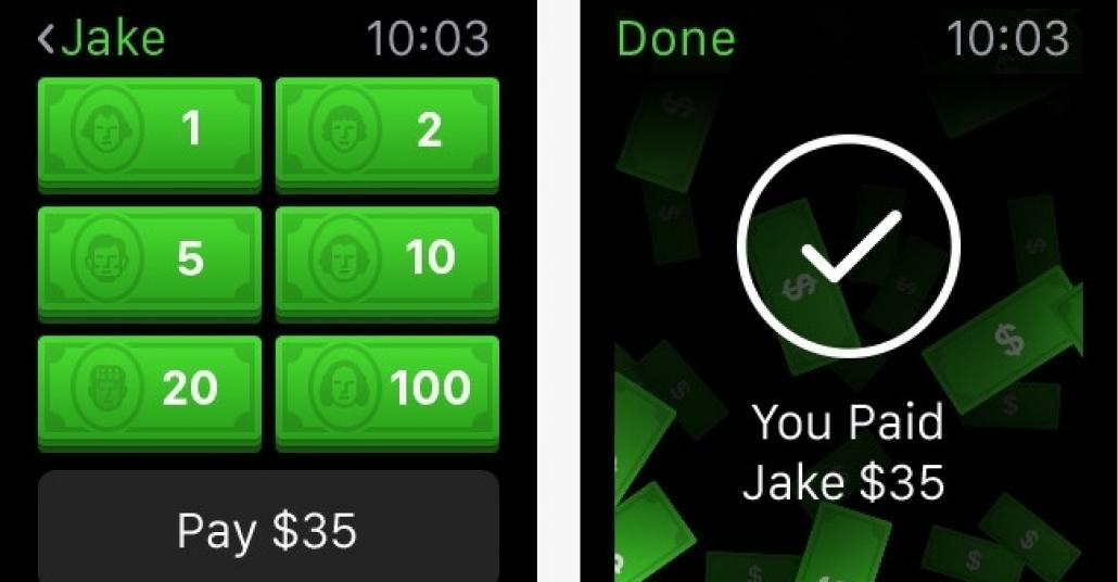 Apple Watch Aracılığıyla Para Transferi Artık Mümkün
