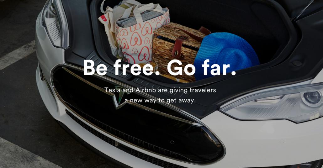 Tesla ve Airbnb'den Şarj İstasyonu İşbirliği