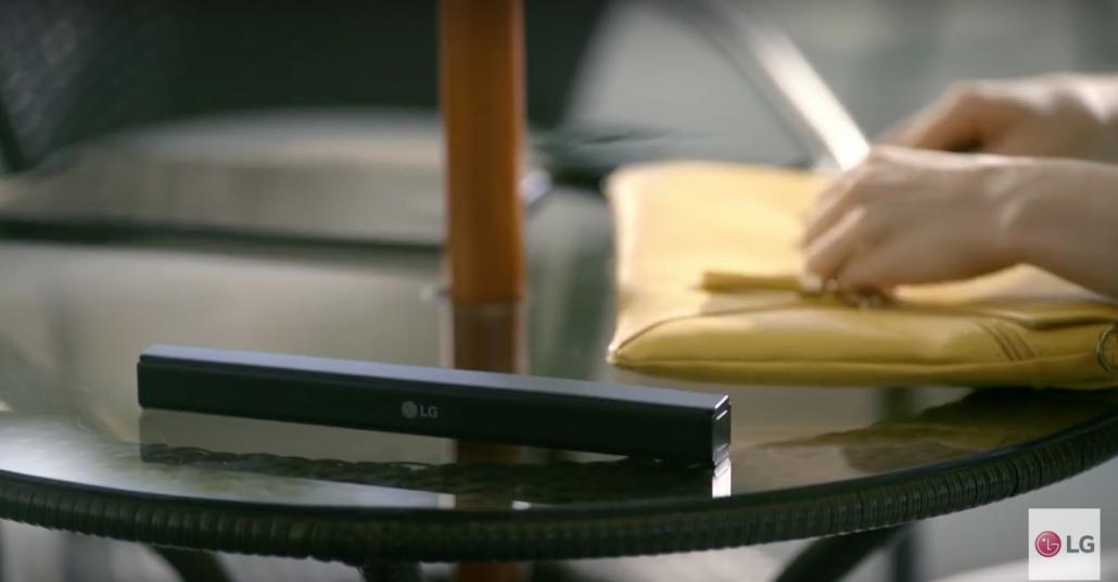 LG'den Katlanabilir Akıllı Klavye