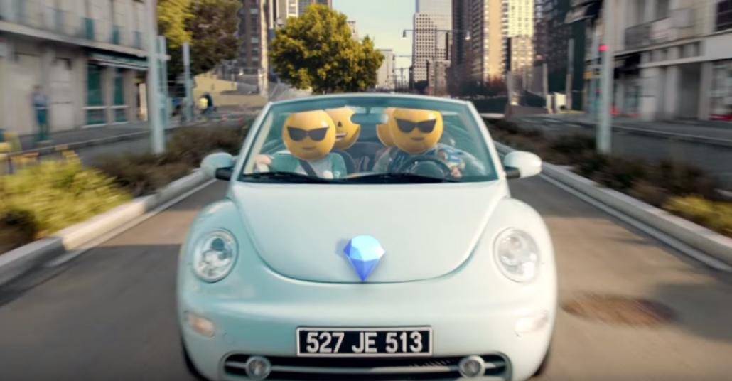 3 Boyutlu Emoji Kafalar McDonald's Reklamında