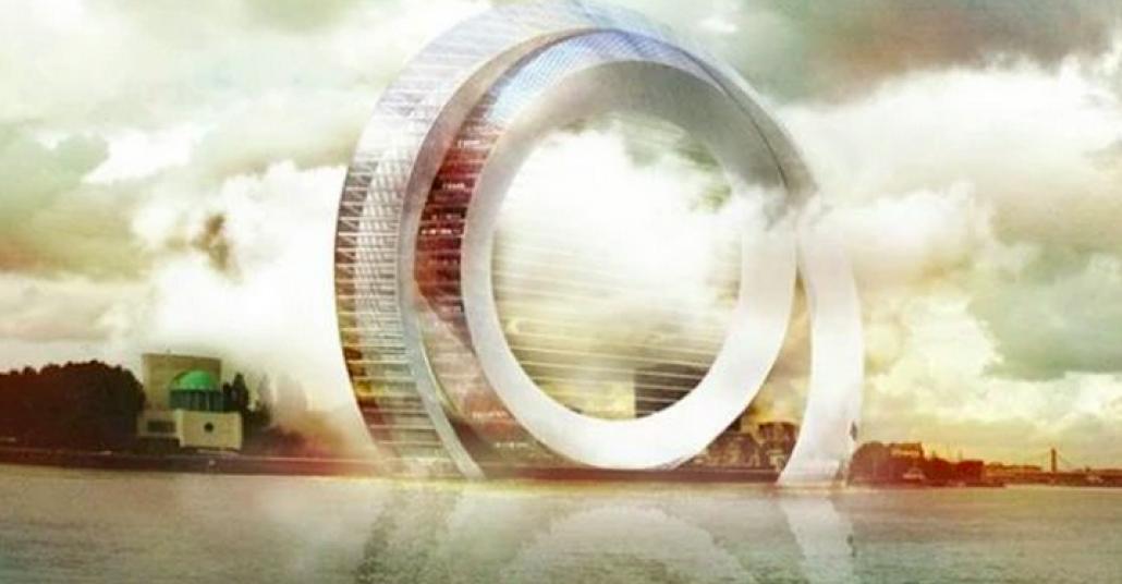 Rüzgarı Enerjiye Dönüştürebilen Akıllı Bina Prototipi: Windwheel