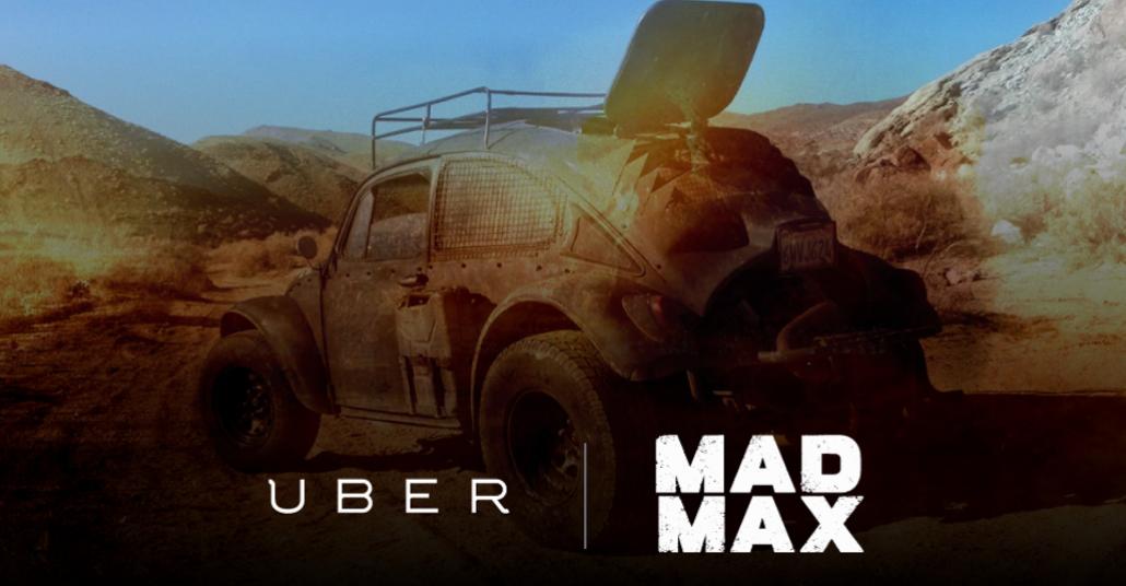 Uber, Mad Max Araçlarıyla Seattle Sokaklarındaydı