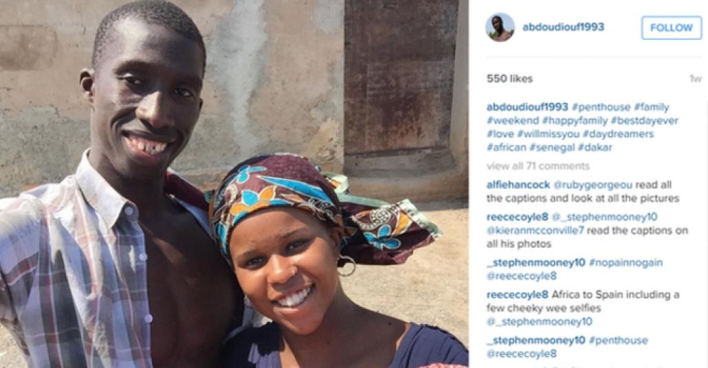 Senegalli Bir Göçmenin Avrupa'ya Kaçak Yolculuğunu Anlatan Instagram Selfieleri