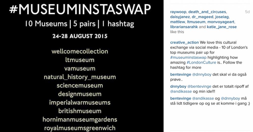 Müzelerin Instagram'da Buluşma Noktası: #MuseumInstaSwap