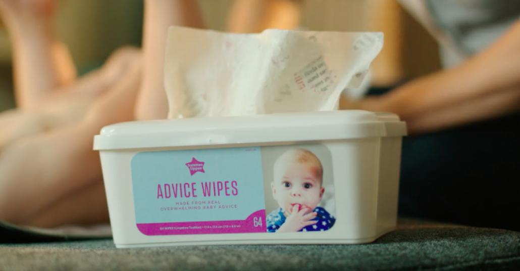 Ebeveynlik Tavsiyeleri, Bebekler İçin Islak Mendillere Dönüşüyor