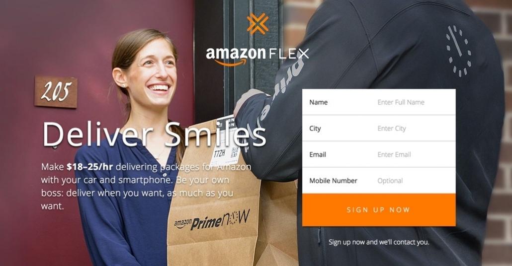 Amazon Flex: Uber Modeliyle Amazon Kuryesi Olun