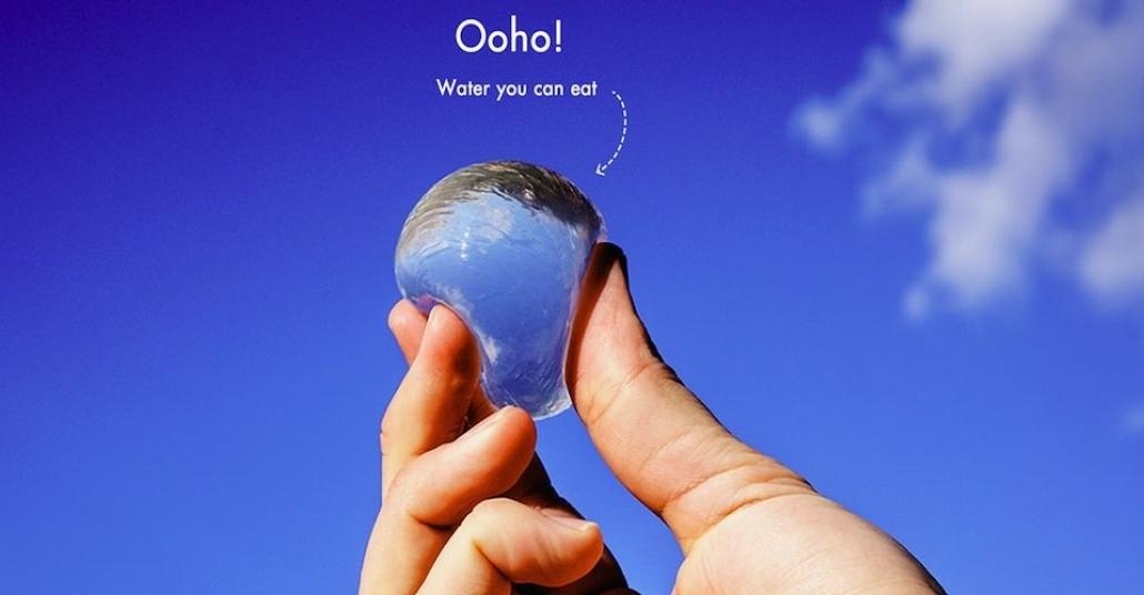 Plastik Şişelere Veda, Yenilebilir Su Şişesi: Ooho