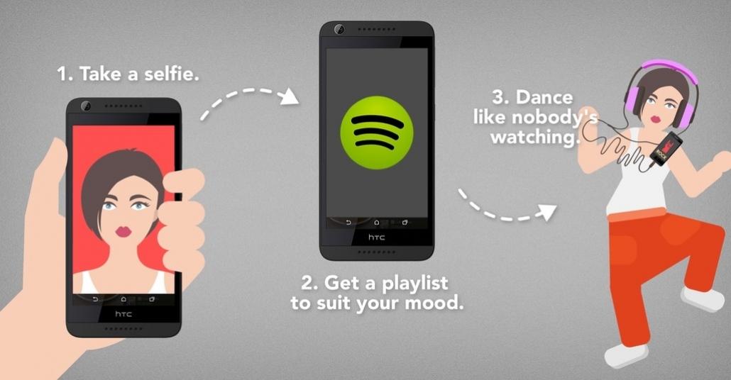 HTC ve Spotify'dan Selfienize Özel Çalma Listesi