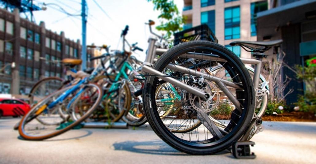 Aşırı Derecede Katlanabilen Bisiklet