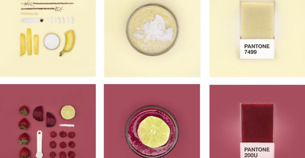 Mükemmel Smoothie'nin Formülü Pantone Renklerinden Sorulur