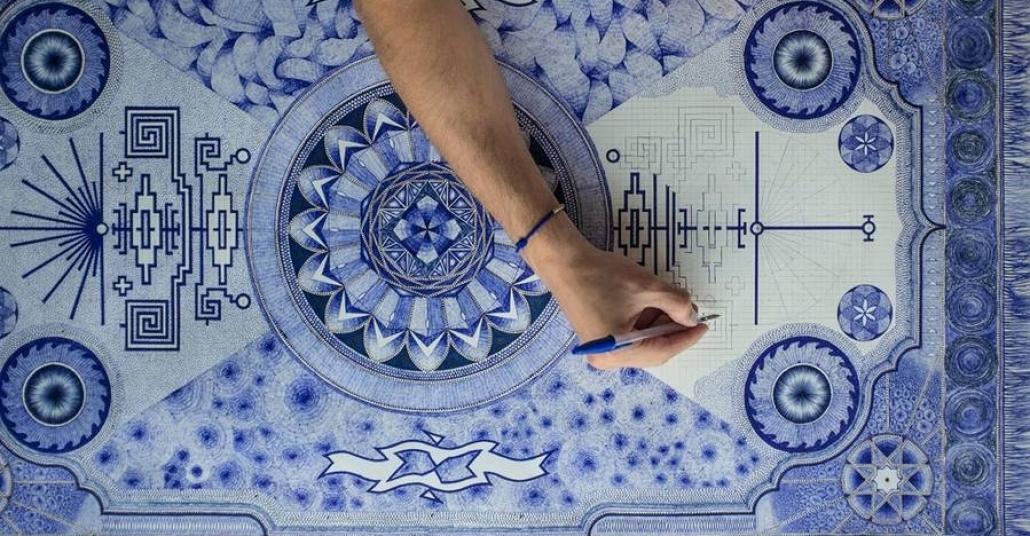 Mavi Tükenmez Kalemin Nirvanası: Bréchignac'ın Halıları