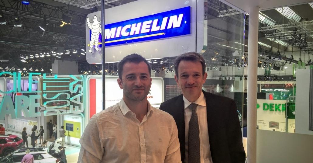 Michelin Binek Ürün Grubu Direktörü Thierry Chiche ile Lastik Trendleri Üzerine