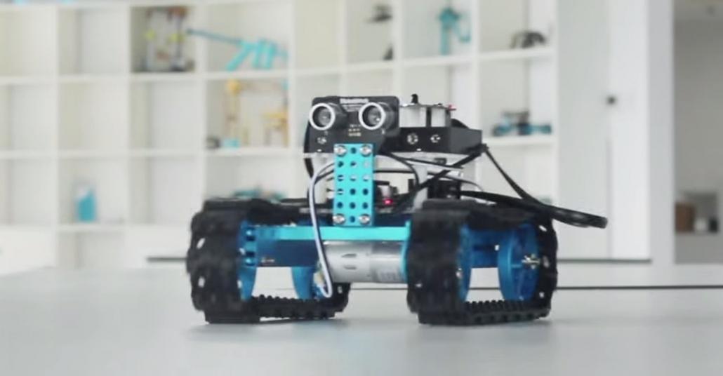 Çocuklar ve Yeni Başlayanlar İçin Robot Kiti: Makeblock