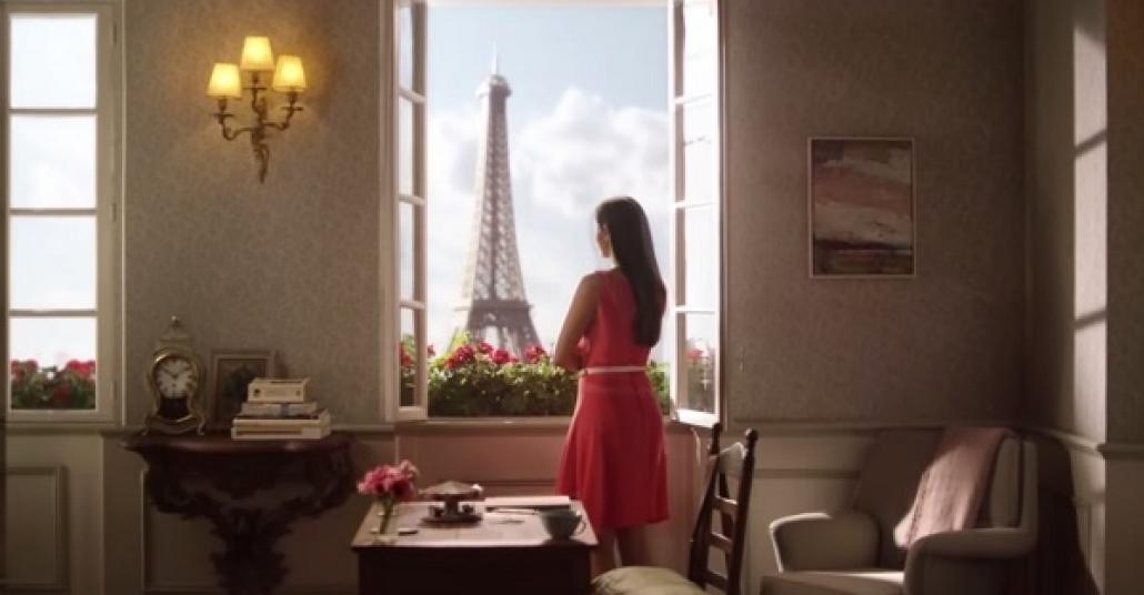 Airbnb'nin Devasa Zoetropu Paris Anılarına Hayat Veriyor