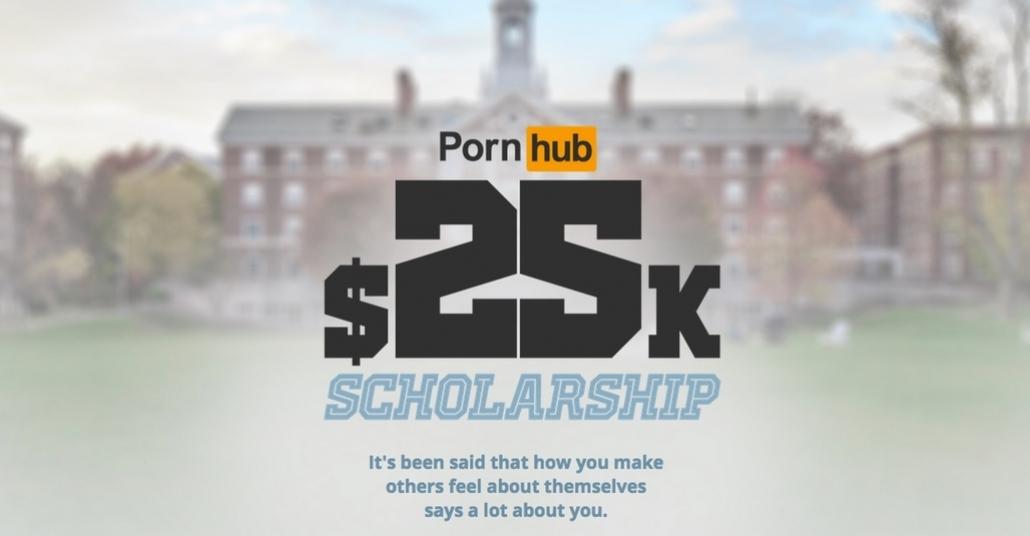 Pornhub'dan 25 Bin Dolarlık Eğitim Bursu