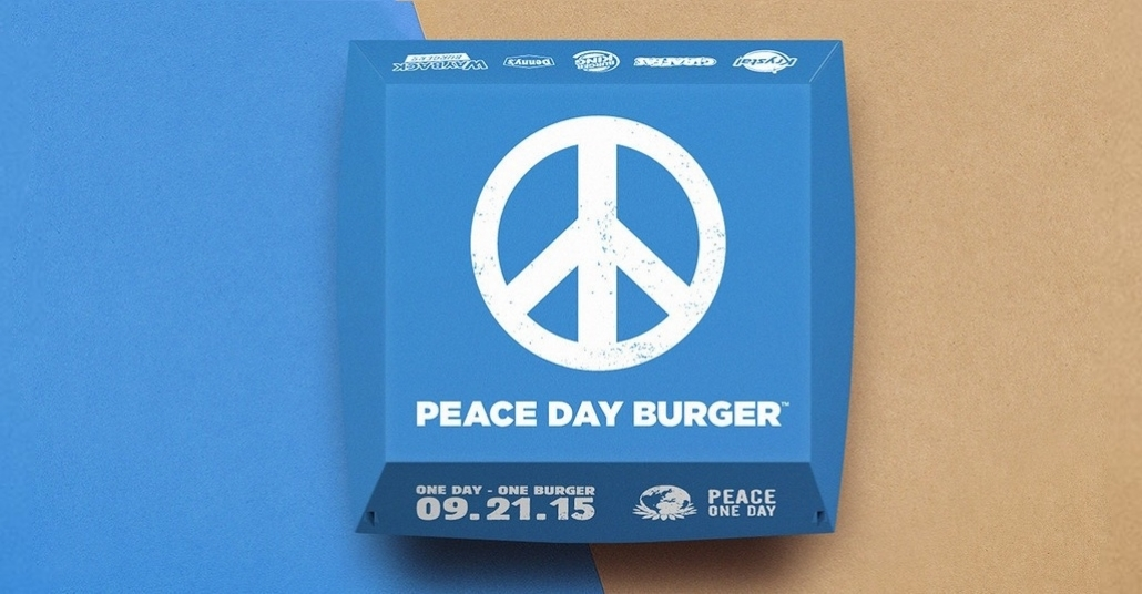 Burger King'den Dünya Barış Günü İçin Bu Kez Tüm Burger Zincirlerine Açık Davet
