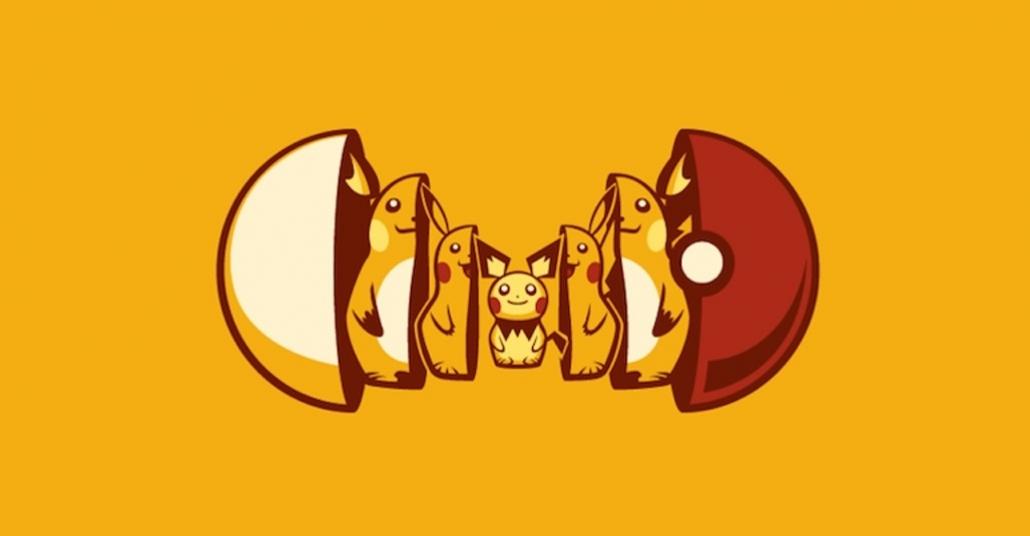 Pokémon Temalı Matruşka Bebekleri