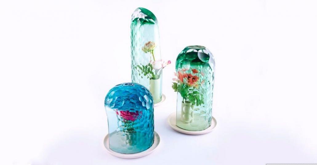 Tek Çiçekten Buket Yaratan Cam Vazolar