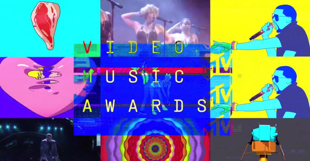 Popüler Kültüre Etkileriyle MTV Video Müzik Ödülleri Kolajı