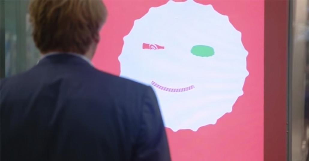 Coca-Cola'nın Yüz Tanıma Teknolojisiyle Taklidinizi Yapan Şişe Kapağı