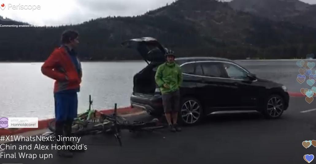 BMW'nin Periscope ile Etkileşimli İnteraktif Yol Macerası