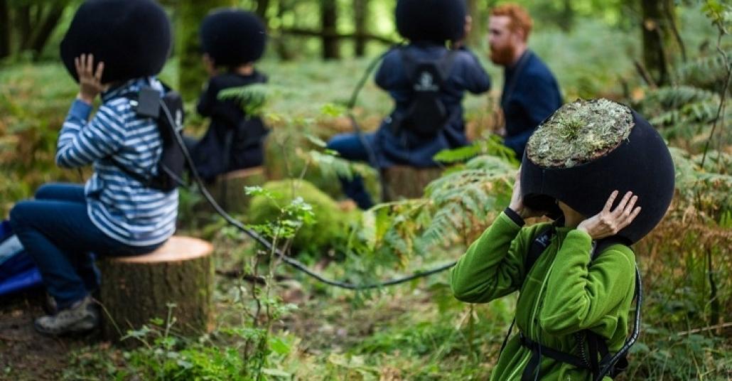 Ormanı Bir Hayvan Olarak Gezdiren Sanal Gerçeklik Deneyimi
