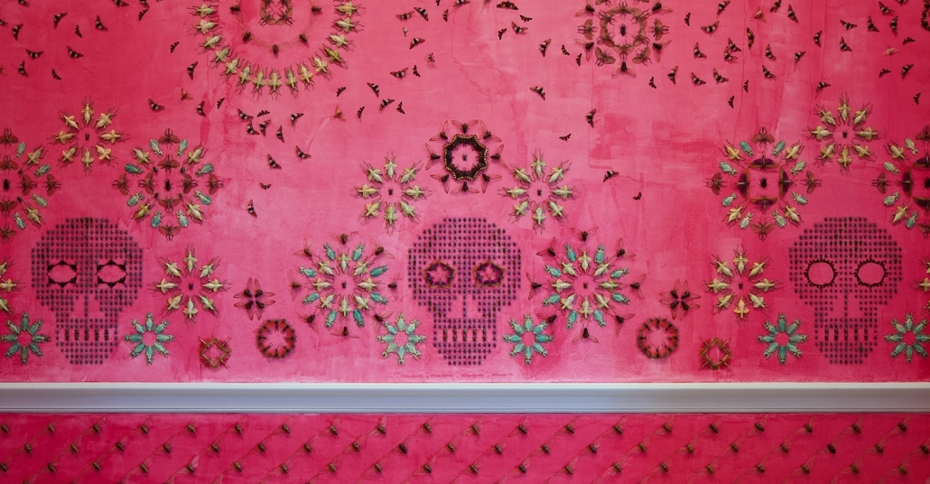 5.000 Böcekle Donatılmış Duvarlar