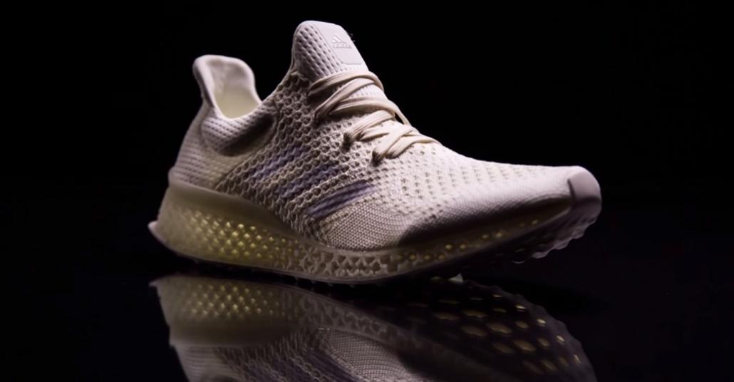 Adidas'tan 3B Baskıyla Sporculara Özel Ayakkabı