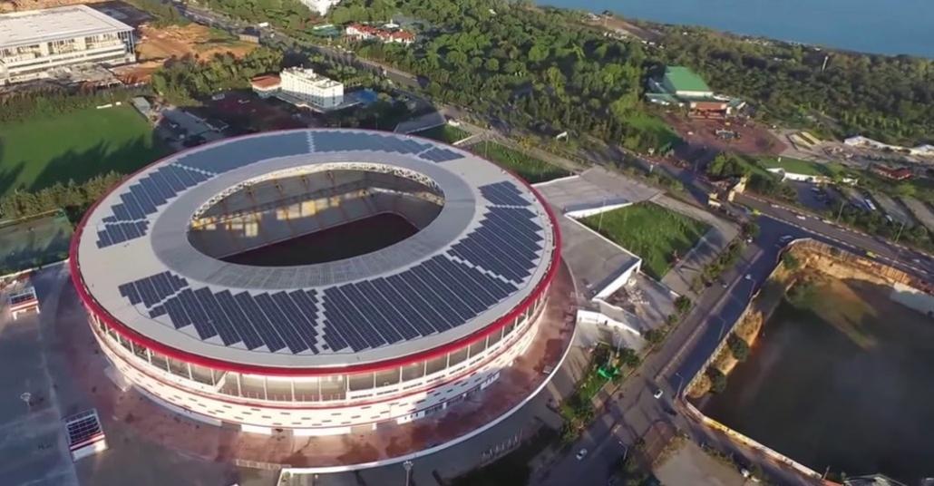 Türkiye'nin İlk Güneş Enerjili Stadyumu: Antalya Arena