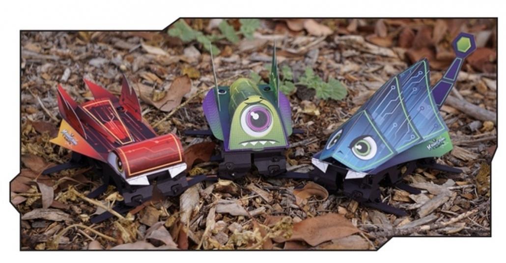 Hızlı ve Etkileşimli Kendin Yap Robot Oyuncaklar: Kamigami