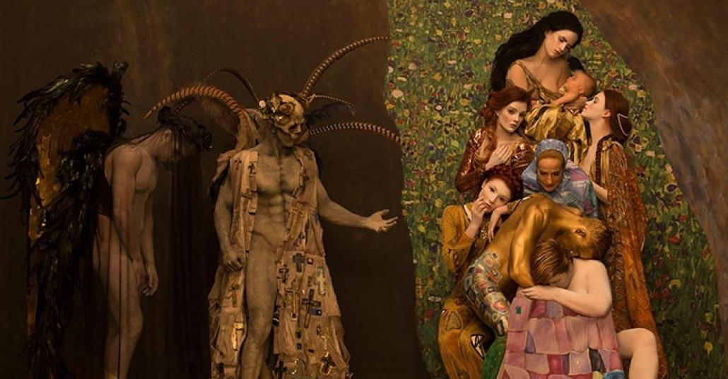 Gerçek Modellerle Baştan Yaratılan Gustav Klimt Eserleri