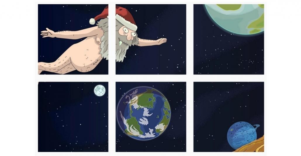Rick & Morty'nin 2. Sezonu Instagram Oyununa Dönüştü