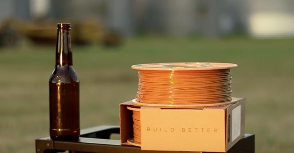 Bira Atıkları ve Kahveden Elde Edilen 3B Baskı Filamentleri