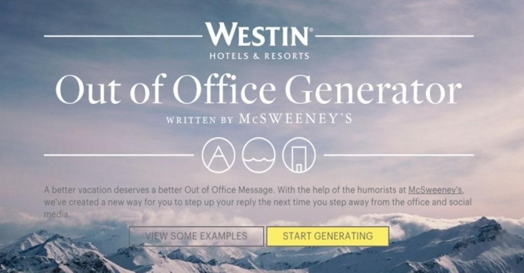 """Otel Zincirinden Sarkastik """"Ofis Dışında"""" Mesajları"""