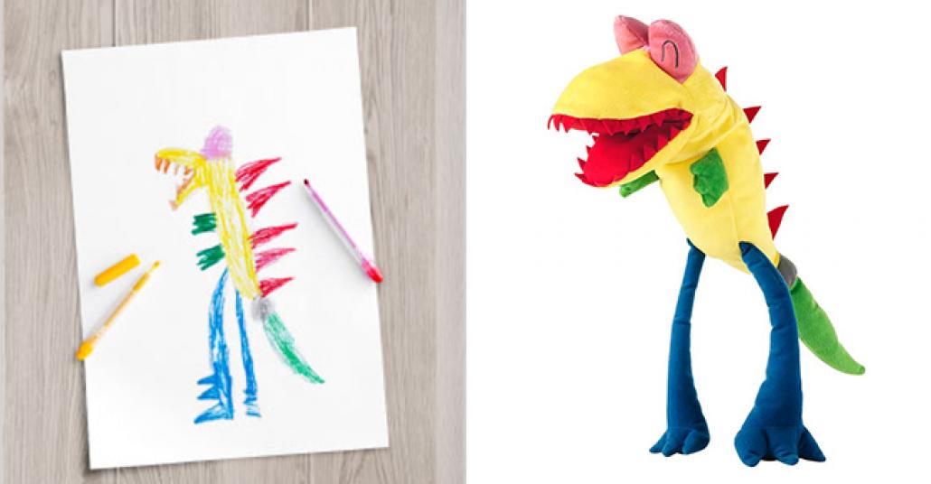 Ikea, 10 Çocuğun Hayal Gücünü Oyuncağa Dönüştürdü