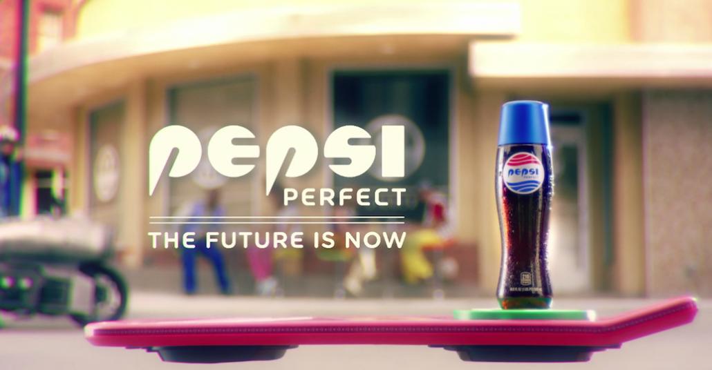 Pepsi, Geleceğe Dönüş filmindeki Şişelerini Gerçeğe Dönüştürüyor