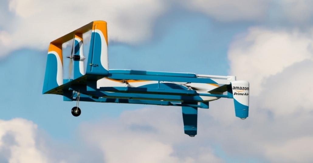 Amazon Prime Air ile Havadan Teslimat Yapacağı Drone'u Açıkladı