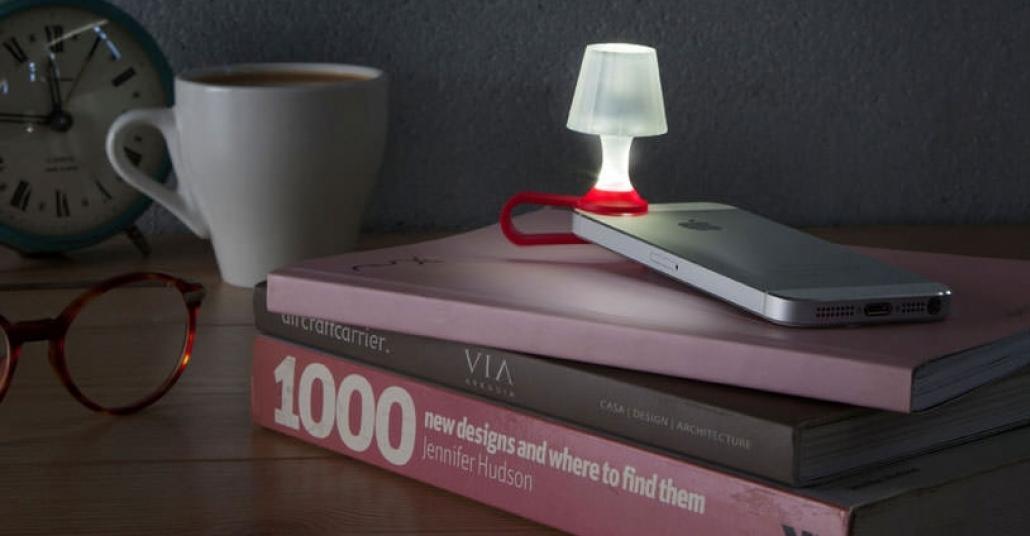 Akıllı Telefonunuzu Minik Bir Masa Lambasına Dönüştüren Aksesuar: Luma