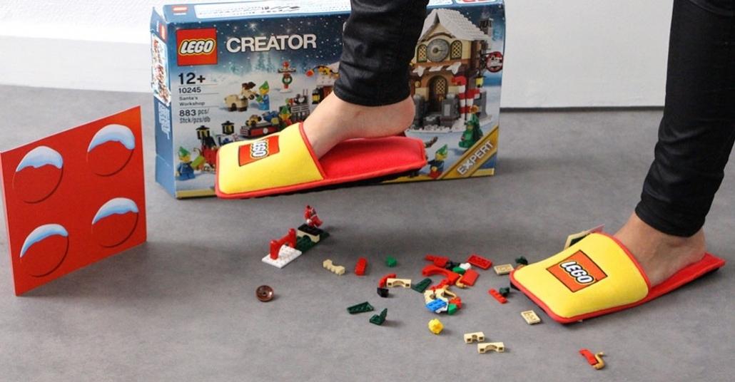 LEGO Terlikleriyle Yerdeki Parçalara Basıp Acı Çekmeye Son!