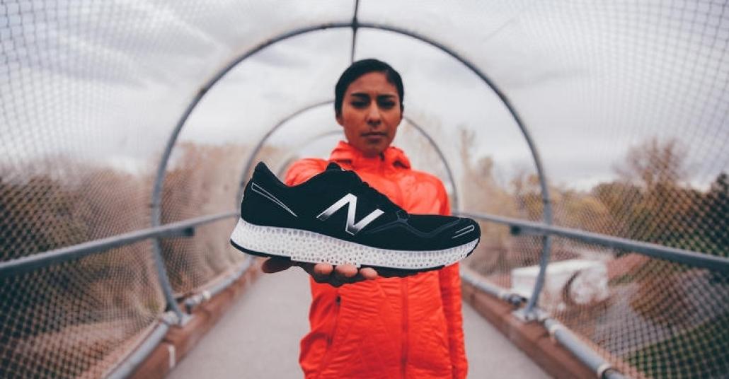 3B Baskı Spor Ayakkabılar Yarışında Sahaya New Balance Çıkıyor