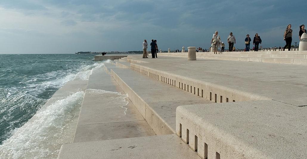 Adriyatik Dalgalarının Nota Olduğu Deniz Orgu