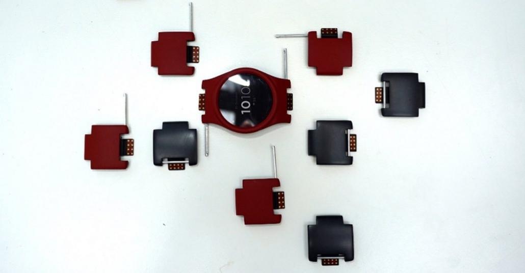Kişiye Özel Modüler Akıllı Saat: Blocks