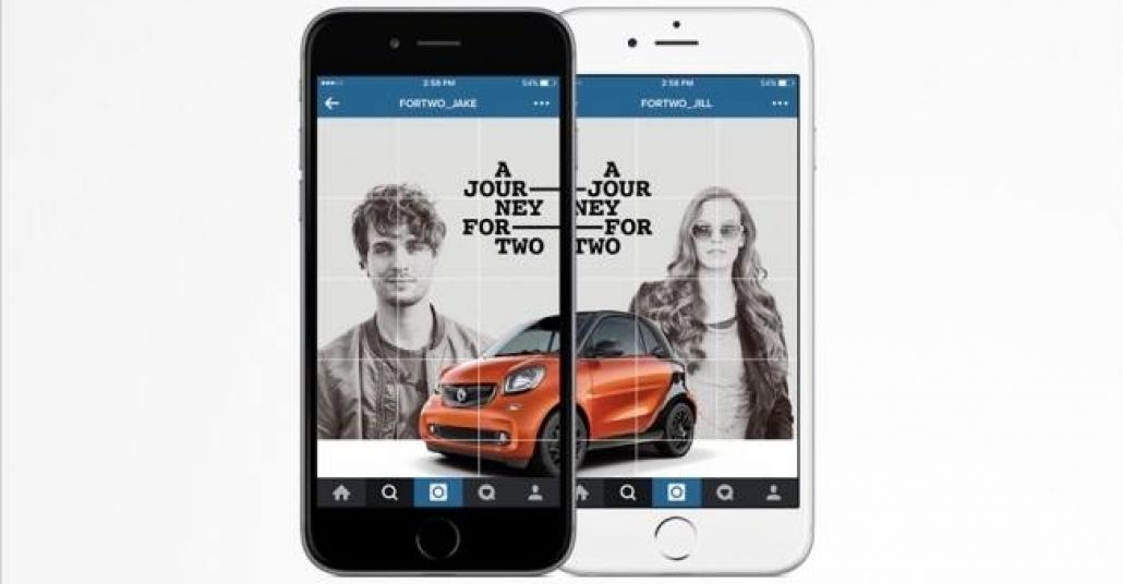 Smart'ın İki Hesapla İki Kişilik Instagram Hikayesi