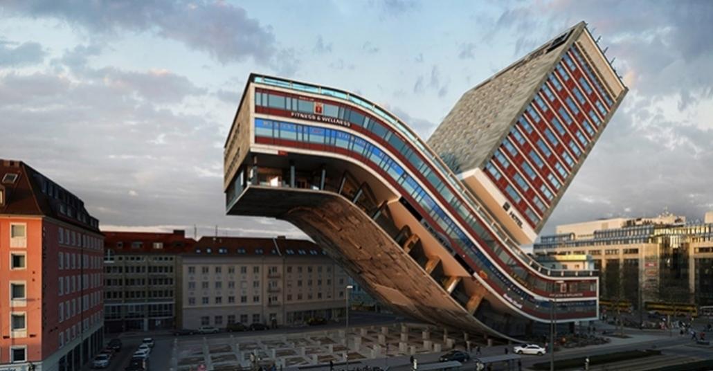 Bir Binayı Kaç Farklı Şekilde Bükebilirsiniz?