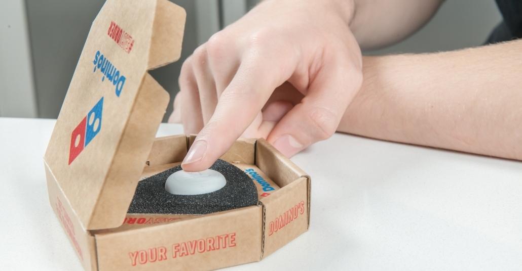 Domino's Pizza'nın Kolay Sipariş Butonu